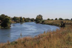 San Joaquin River, south Delta, Oct 2013 #2