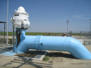 Semitropic Water Bank #3 groundwater pump smaller  04-2008