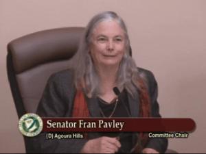 Senator Pavley Title