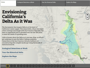 Historical Ecology Study Interactive Map