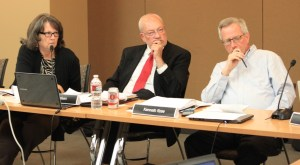 Review panel listens