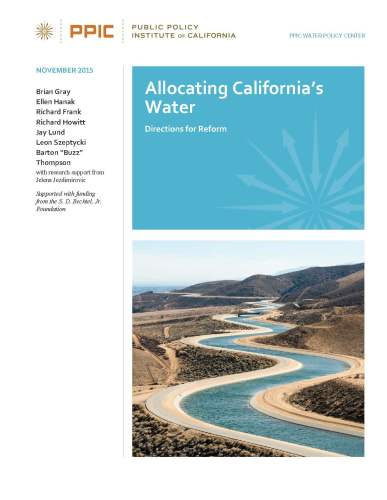 PPIC Allocating Water