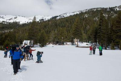 Mar 30 Snow survey
