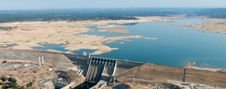 Folsom Lake drought sliderbox