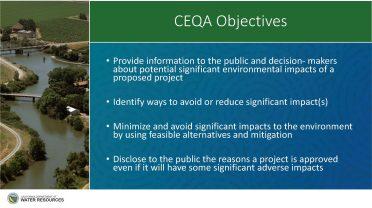 CEQA objectives