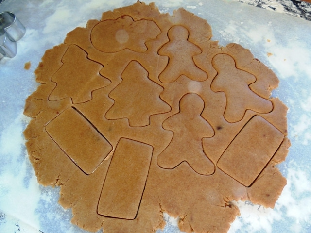 Spicy Crunchy Gingerbread!