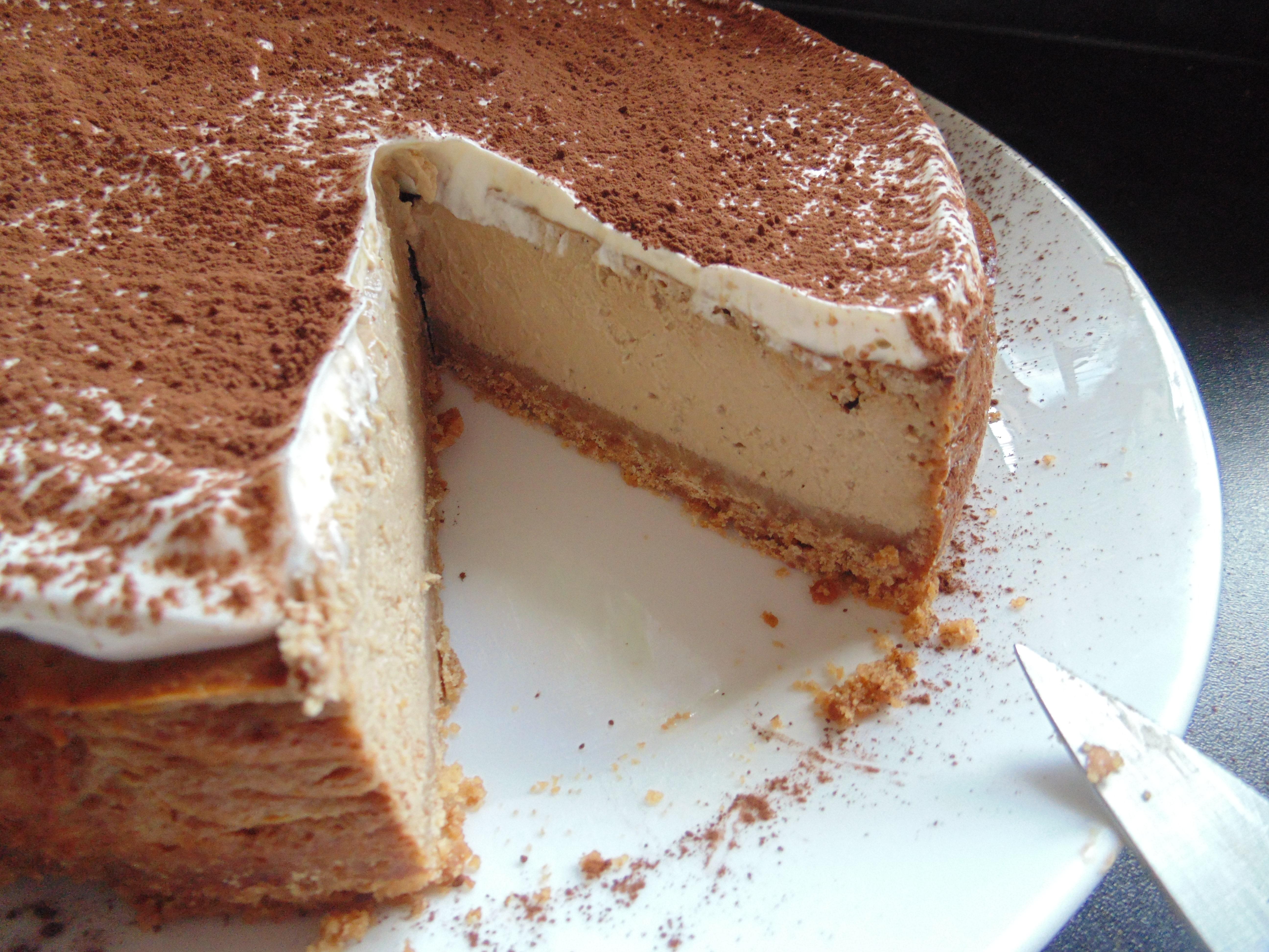 Cappuccino Cheesecake - Maverick Baking