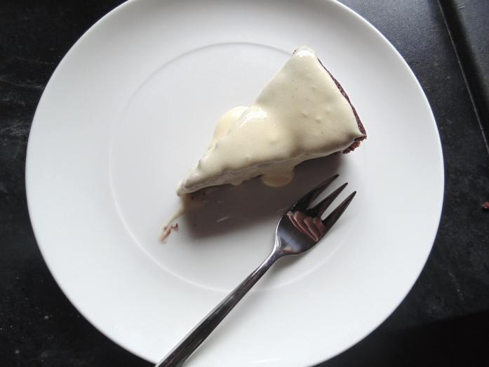 vegan chocolate stout cake