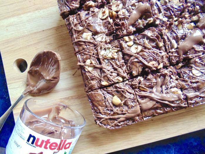 best ever nutella brownies
