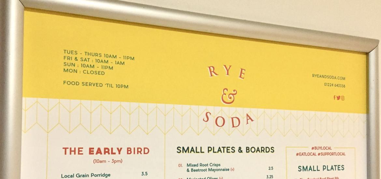 rye & soda review