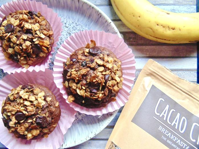 Breakfast by Bella Review + Double Chocolate Banana Crunch Muffins!
