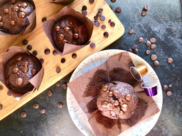 chocolate chip mocha muffins