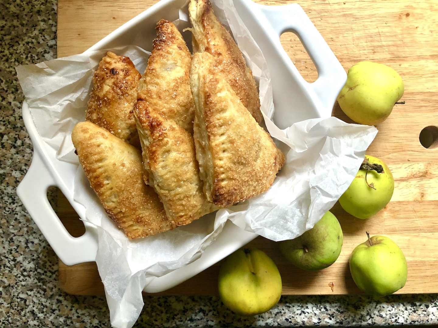 Toffee Apple Turnovers
