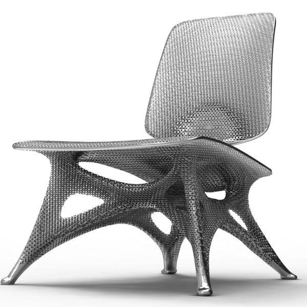 Joris Laarman Lab. Aluminum Gradient Chair Maverick Cult