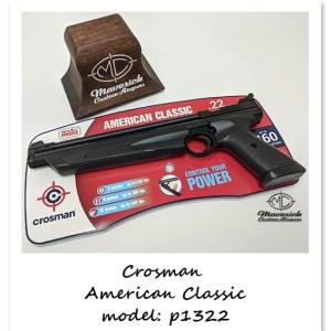 Crosman P1322 .22 cal. Pumper Pistol
