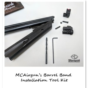 MCAirgun's 13xx Barrel Band Installation Tool Kit