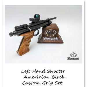 Left Hand Sportsmen American Birch Grip Set