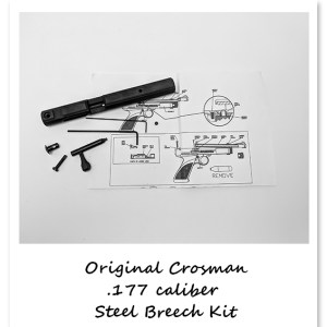 Original Crosman 1377 Steel Breech Kit w/instructions