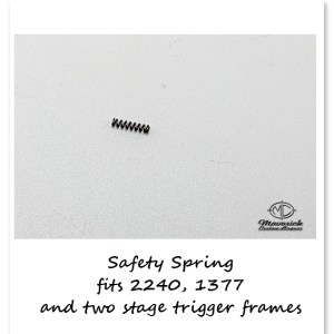 Trigger Frame Safety Spring