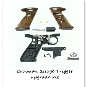Complete Match Grade 2 Stage Trigger Frame Upgrade Kit w/ Custom Grips