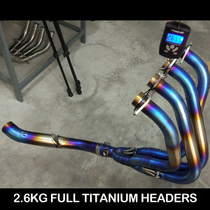 KAWASAKI Z1000 FULL TITANIUM HEADERS
