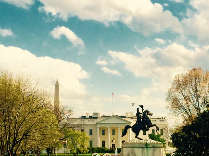 White House & Washington Monument