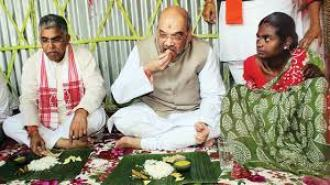 Amit Shah kicks off 'Mission Bengal' from Naxalbari