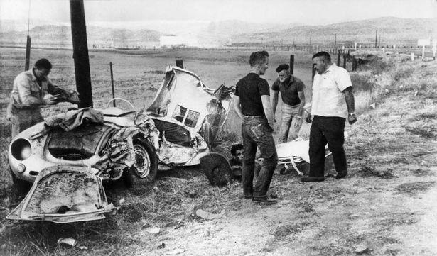 Image result for james dean crash