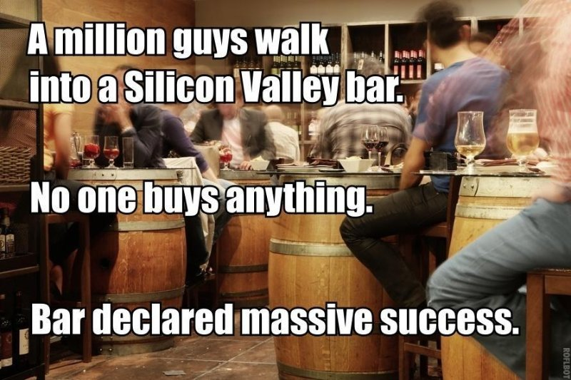 Silicon valley bar
