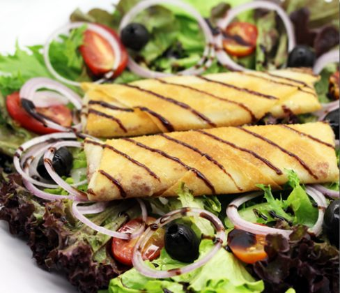Crispy Chevre Salad