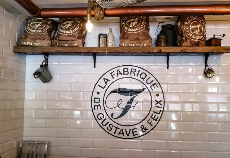 Logo La Fabrique, boulangerie a Koh Samui