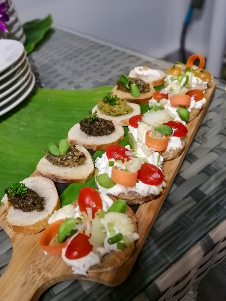 Toast buffet traiteur Koh Samui