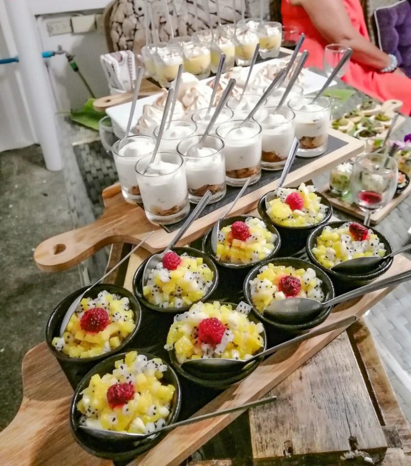Desserts traiteur Koh Samui