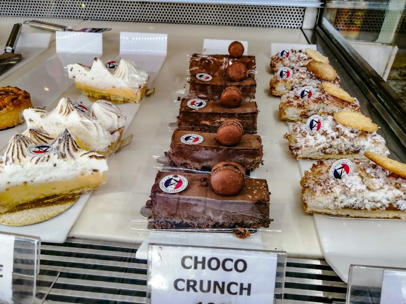 Gateaux Choco Crunch patisserie Koh Samui