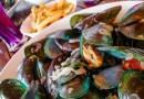Moules Frites avec des frites fraiches belges au restaurant le New French Kiss a Koh Samui
