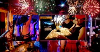 Anniversaire 1 an de la Bohemia Beach Lounge a Lami Beach, Koh Samui