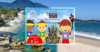 Koh-Lanta Kids Samui, la journée des enfants a Koh Samui