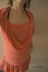 #Moodkitcombi top spaghetti en robe