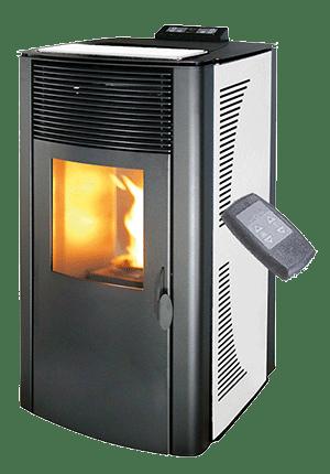 Hydro pellet stove