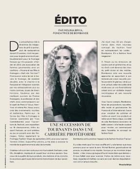 Bombance the fashion food magazine N° 1