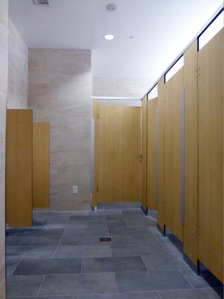Mavi New York Overhead braced Toilet Partitions  MaviNY