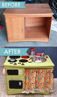 Tip #25: Homemade Toddler Kitchen