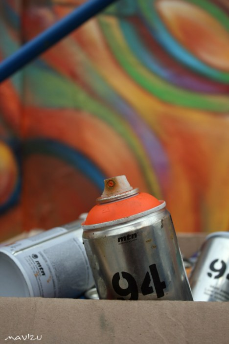 Las latas de Guache