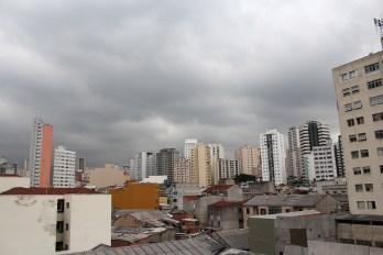 São Paulo desde el barrio japonés.