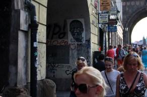 STINKFISH. Ulice Křižovnická, Praha, República Checa.