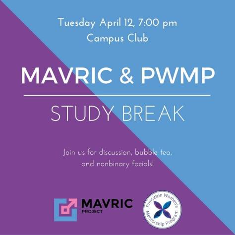 MAVRIC & PWMP study break 4.11.16