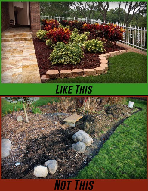landscaping with mulch mavroff