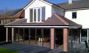 Rear house extensions
