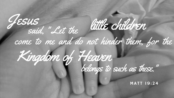 Matthew 19 Little Children Come
