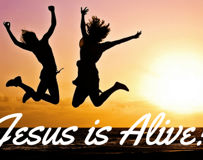 """""""The Tomb is the Womb of the Resurrection!"""" Jesus is Alive!"""